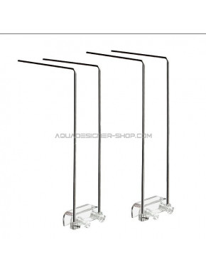 Support inox Chihiros pour rampe led série A