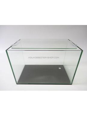 Aquarium 11L bords arrondis 31x18x20 cm (cuve nue)