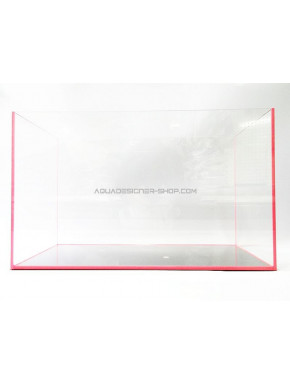 "Aquarium ""optiwhite"" 45x27x30cm FLUO rose"