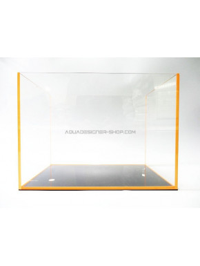 "Aquarium ""optiwhite"" 60x30x36cm FLUO orange"