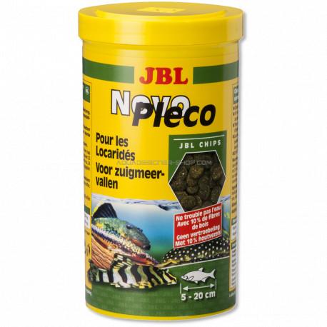 Jbl novopleco nourriture poisson fond locarid for Jbl nourriture poisson