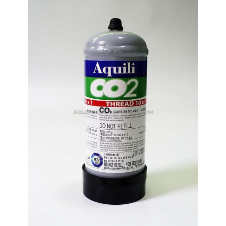 Bouteille co2 300g jetable Aquili