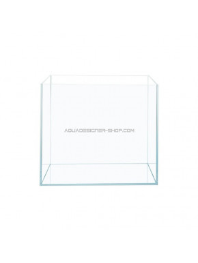"Aquarium verre extra clair ""optiwhite"" 40x40x40cm"