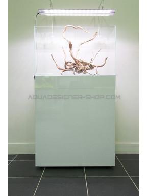 Meuble aquarium 60x30x80 ADS STAND WHITE GLOSSY