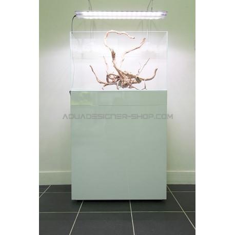 Meuble Aquarium Design Blanc Brillant Aquadesigner Boutique Aquarium