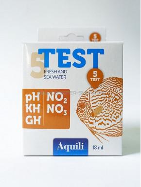 Set de 5 tests d'eau Aquili