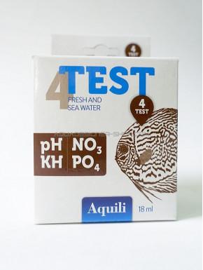 Set de 4 tests d'eau Aquili