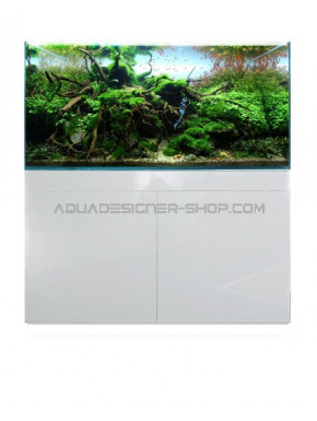 Meuble aquarium 120x50x80 ADS STAND WHITE GLOSSY