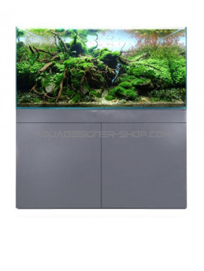 Meuble aquarium ADS STAND GREY METALIK 90x45x70