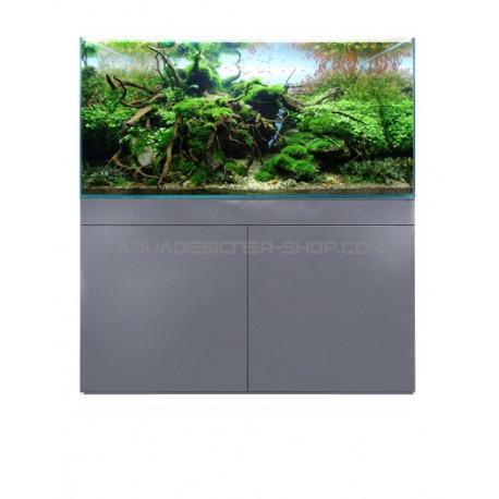 Meuble aquarium ADS STAND GREY METALIK 90x45x70