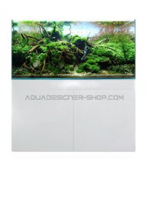Meuble aquarium ADS STAND WHITE GLOSSY 120x50x70