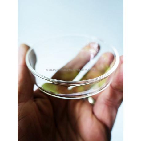 Coupelle en verre diamètre 6cm pour nourrissage crevette