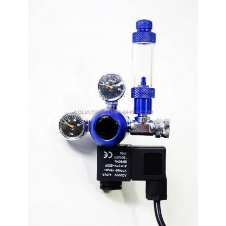 Détendeur co2 et électrovanne aquarium blue