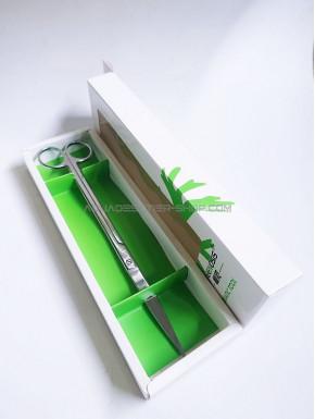Ciseaux courbe 25cm mirror