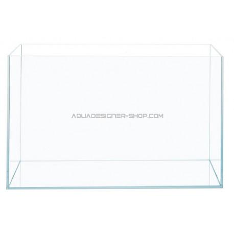 """Aquarium verre extra clair """"optiwhite"""" 60x40x40cm"""