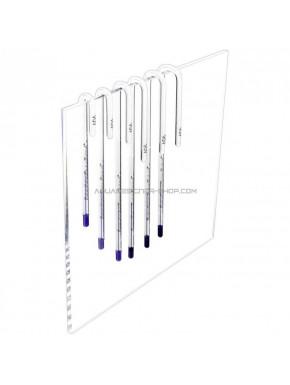 Thermomètre verre écartement 6mm