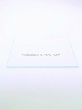 Couvercle en verre optiwhite 28x26 cm