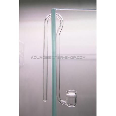Diffuseur co2 en verre  ADS12 - Ø2cm avec coude en verre 13cm