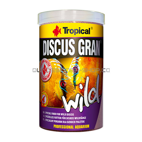 Discus gran wild tropical 250ml nourriture poisson for Tropical nourriture poisson