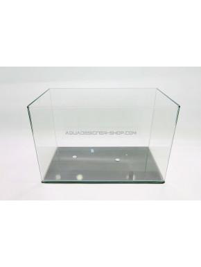 Aquarium 57L bords arrondis 50x33x35 cm (cuve nue)