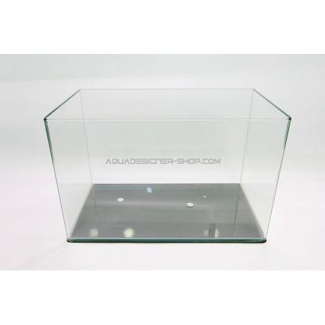 Aquarium 37L bords arrondis 45x28x30 cm (cuve nue)