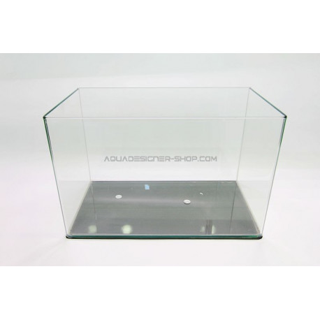 Aquarium 23L bords arrondis 40x23x25 cm (cuve nue)