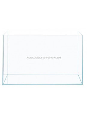 "Aquarium verre extra clair ""optiwhite"" 60x30x36cm"
