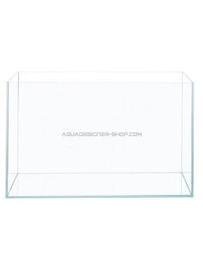 """Aquarium verre extra clair """"optiwhite"""" 80x40x40cm"""